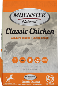 muenster natural dog food