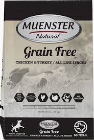 Muenster Natural Grain Free Dog Food