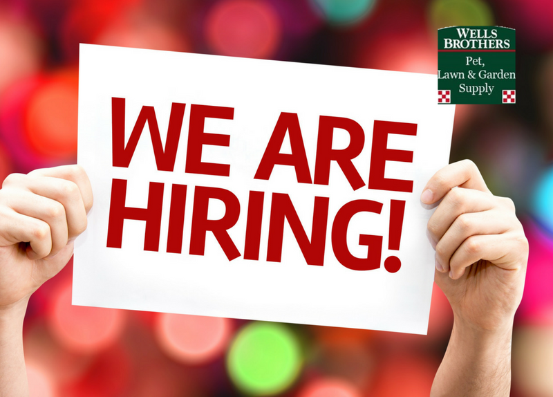 Warehouse Help Wanted! Need A Job Or Know Someone Who Does? Wells Brothers  Is Now Hiring!