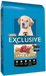 exclusive lamb and rice adult