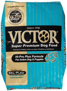 Victor Hi Pro Plus Dog Food at Wells Brothers in Plano, Texas