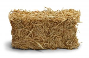 The number one question we get is using hay versus straw. Hay is for livestock feeding and straw is plant stubble from a harvested crop