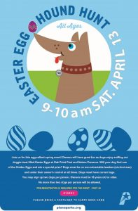 Easter Egg Hound Hunt sponsored by Wells Brothers Pet, Lawn and Garden Center