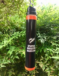 Spartan Mosquito Eradicator from Wells Brothers, Pet, Lawn, and Garden Supply in Plano, Texas.