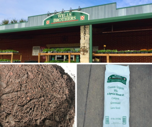 Wells Brothers Custom Organic Mix is back in stock! Pick up our special mix of fine compost, lava sand, and Texas green sand.